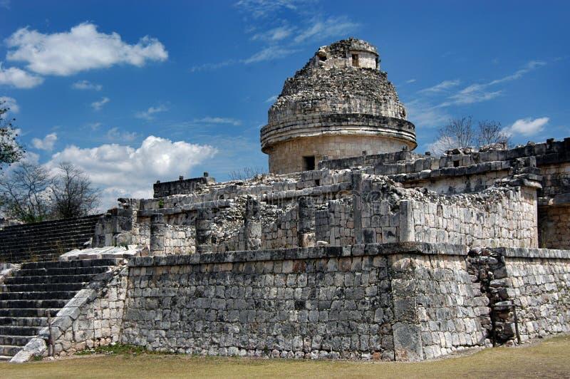 forntida observatorium royaltyfria bilder