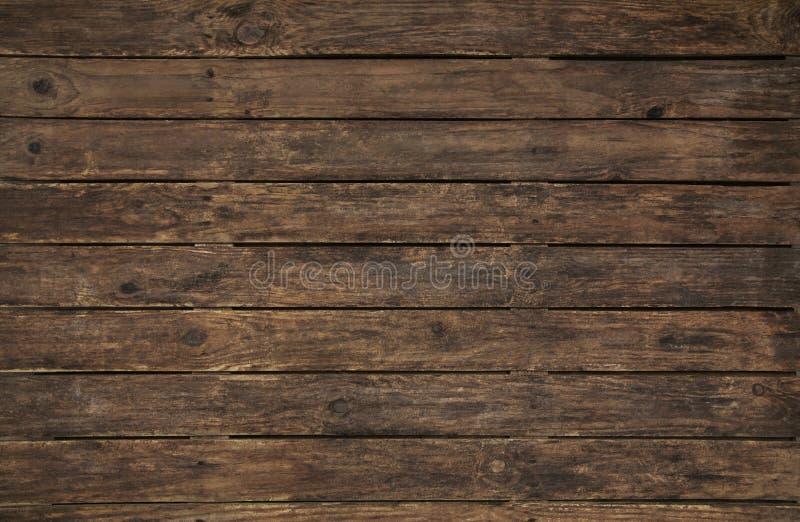 Forntida och gammal träbakgrund Töm yttersida av en nostalgiker fotografering för bildbyråer