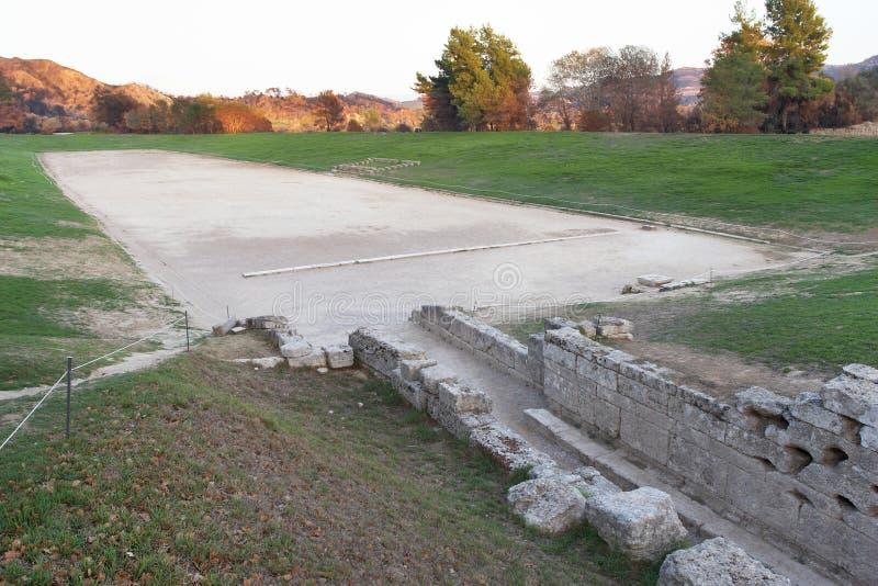 forntida olympia arkivbilder
