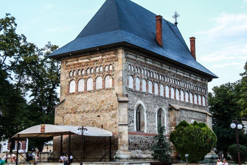 Forntida ortodox kyrka royaltyfria foton