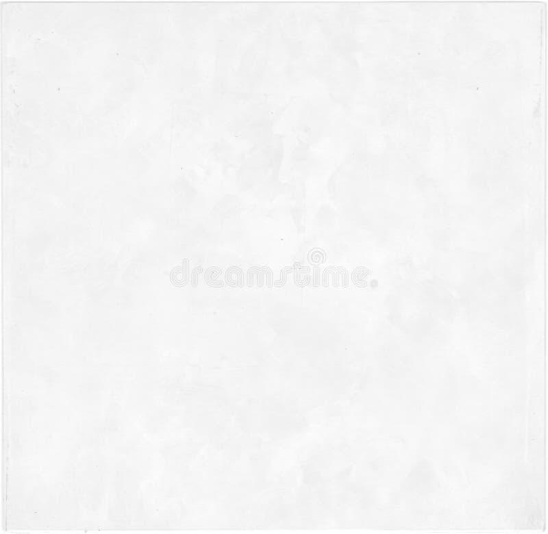 Forntida pergamentpapper med sliten vit bakgrund royaltyfri fotografi