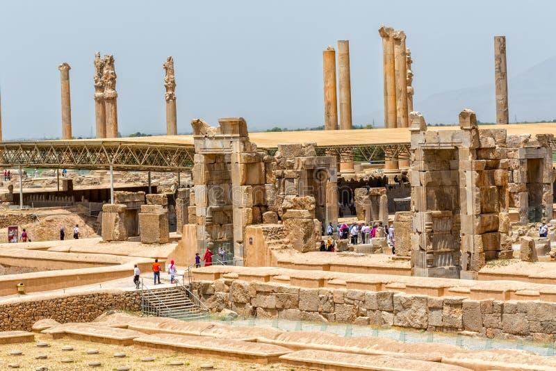 Forntida Persepolis fördärvar royaltyfri bild