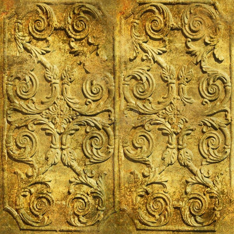 Forntida prydnadar arkivfoto