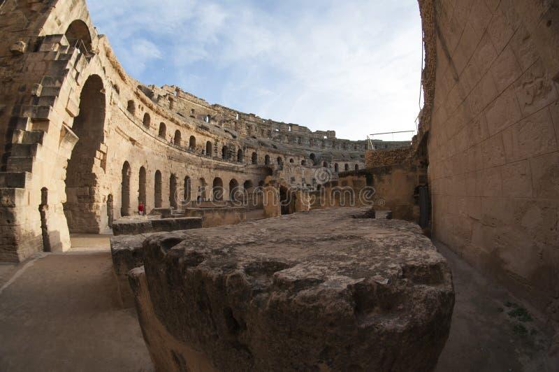 Forntida romare coliseumen arkivbilder