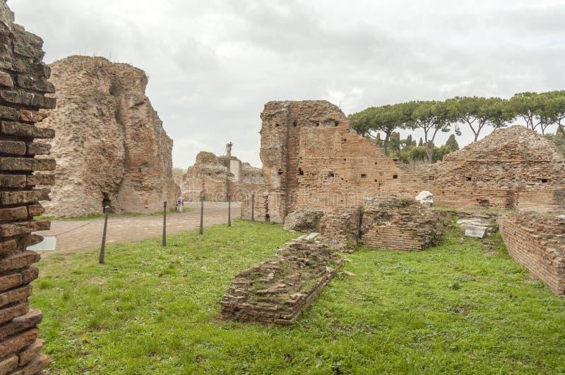 Forntida Rome, palatino arkivbild