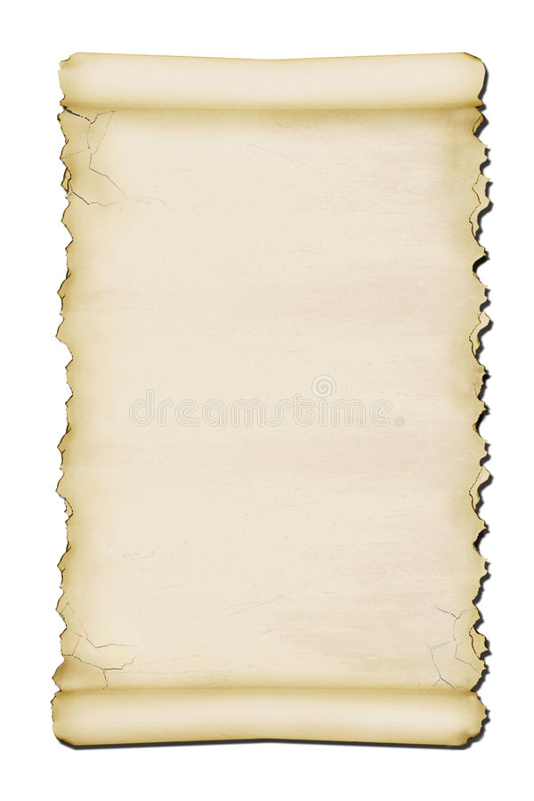 forntida scroll royaltyfri illustrationer
