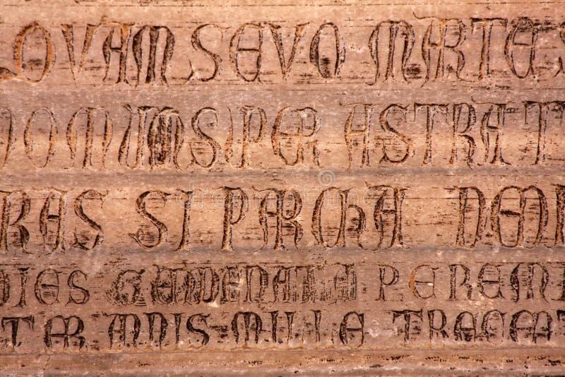 forntida skrift royaltyfria bilder