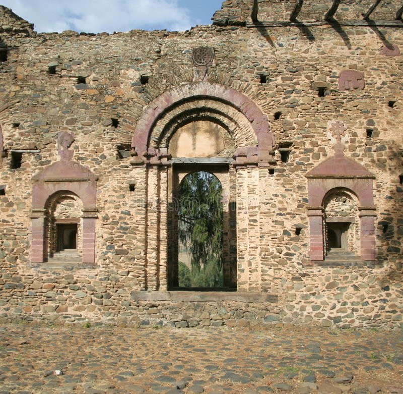 forntida slott arkivbilder