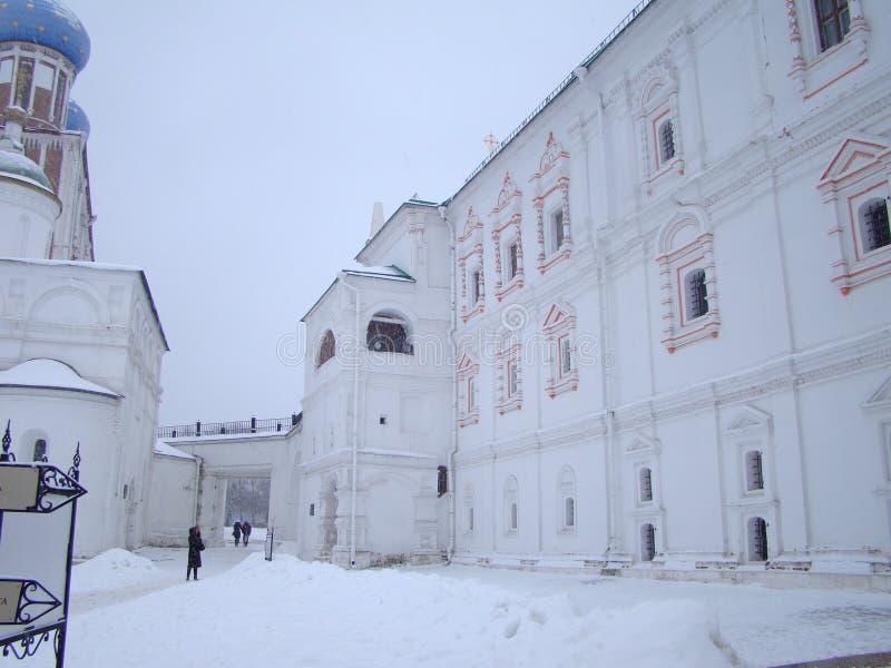 Forntida städer av norden - östliga Ryssland Ryazan arkivbilder