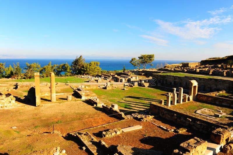 forntida stad royaltyfri foto
