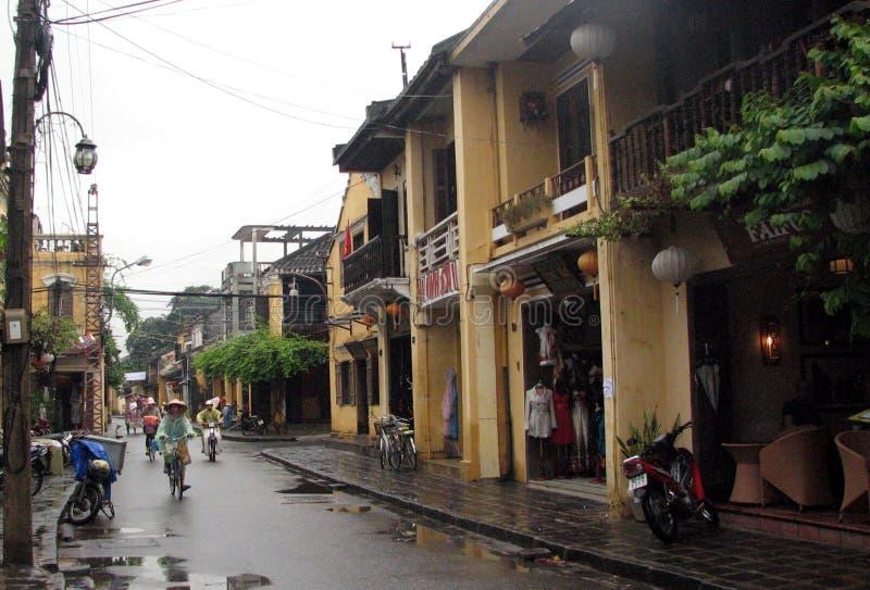 Forntida stad av Hoi An, Vietnam fotografering för bildbyråer