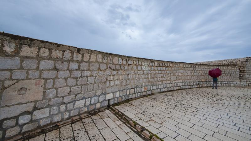 Forntida stad Dubrovnik royaltyfria foton