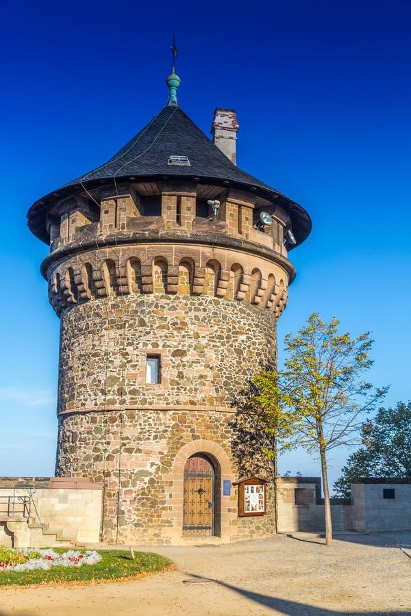 Forntida stad Wernigerode arkivbild
