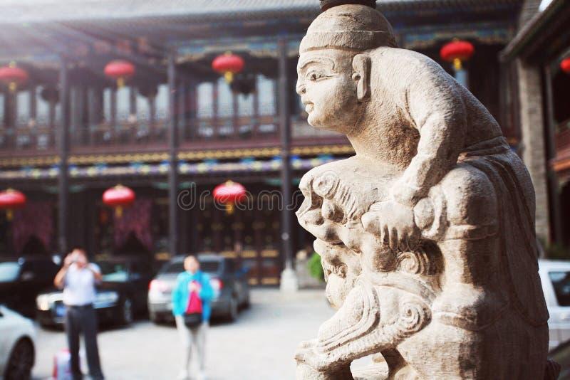 forntida stadspingyao fotografering för bildbyråer