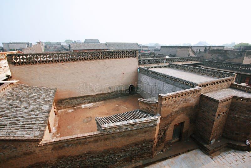 forntida stadspingyao royaltyfria foton