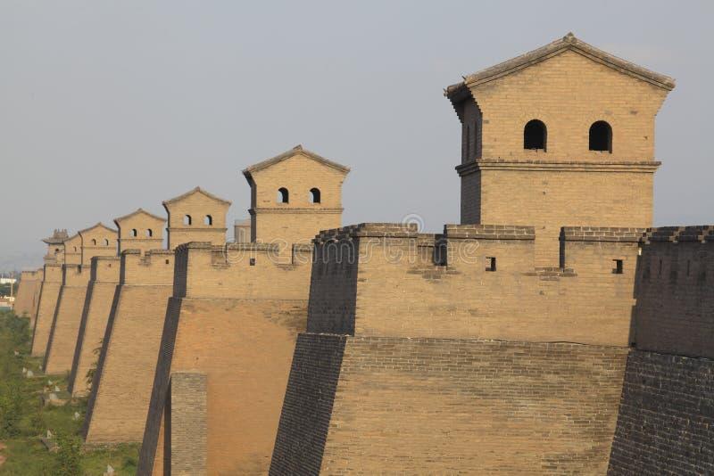 forntida stadspingyao arkivbilder