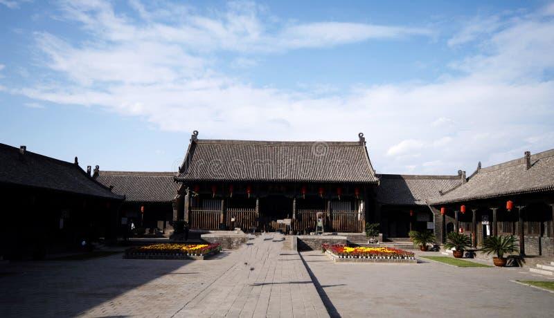 forntida stadspingyao royaltyfri bild