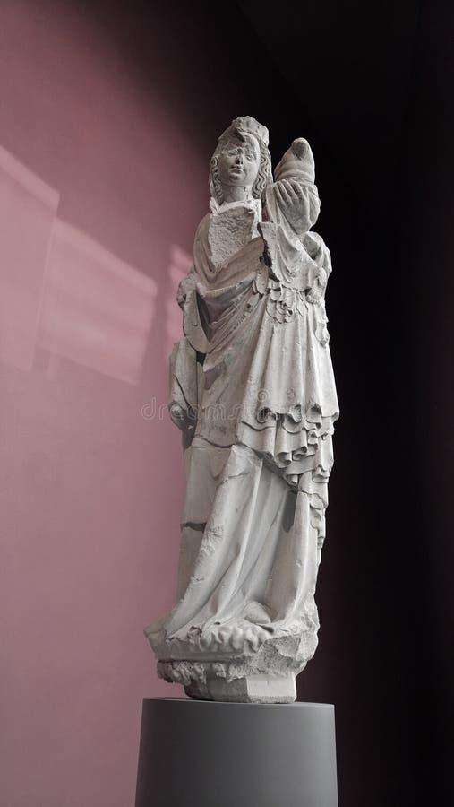 forntida staty royaltyfria bilder