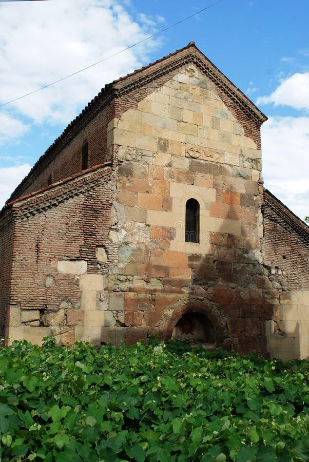 forntida tbilisi torn royaltyfria bilder
