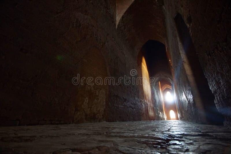 Forntida tempel av Bagan, Burma, Asien arkivfoton