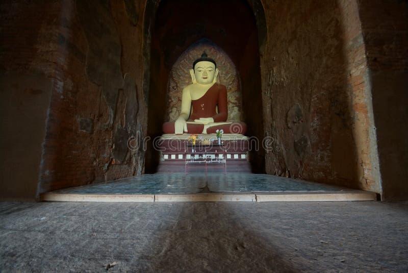 Forntida tempel av Bagan, Burma, Asien royaltyfri foto