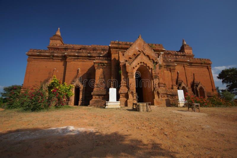 Forntida tempel av Bagan, Burma, Asien royaltyfri fotografi
