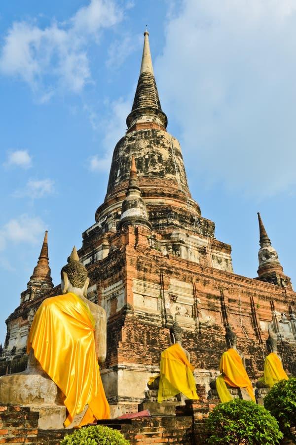 Download Forntida Thailändskt Tempel, Thailand Fotografering för Bildbyråer - Bild av thailand, antikviteten: 27280393