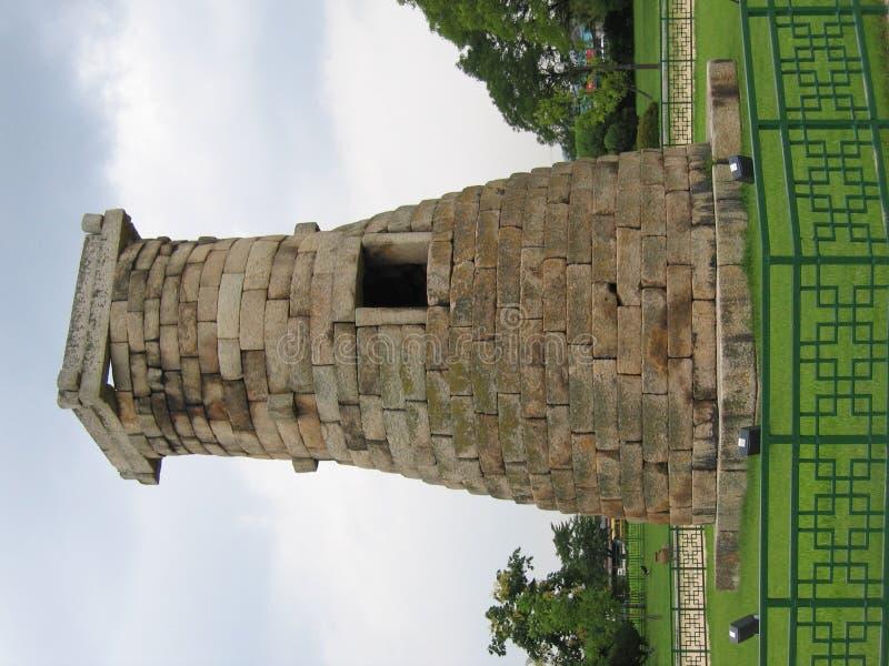 forntida torn royaltyfri foto