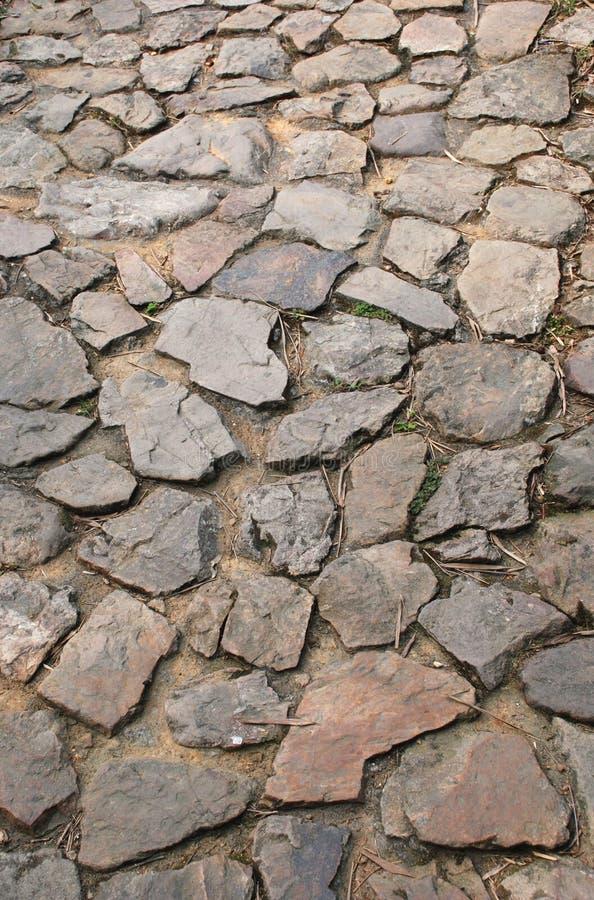 forntida trottoar arkivfoto