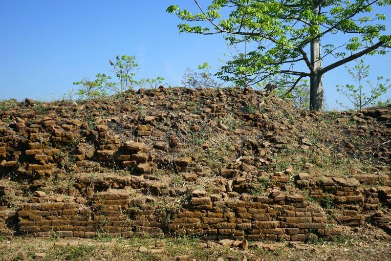 forntida vägg royaltyfri foto