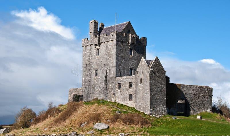 forntida västra slottkustireland irländare royaltyfri bild