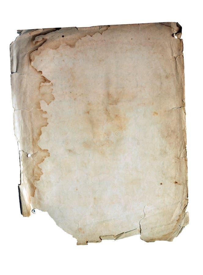 forntida vått copyspacepapper vektor illustrationer