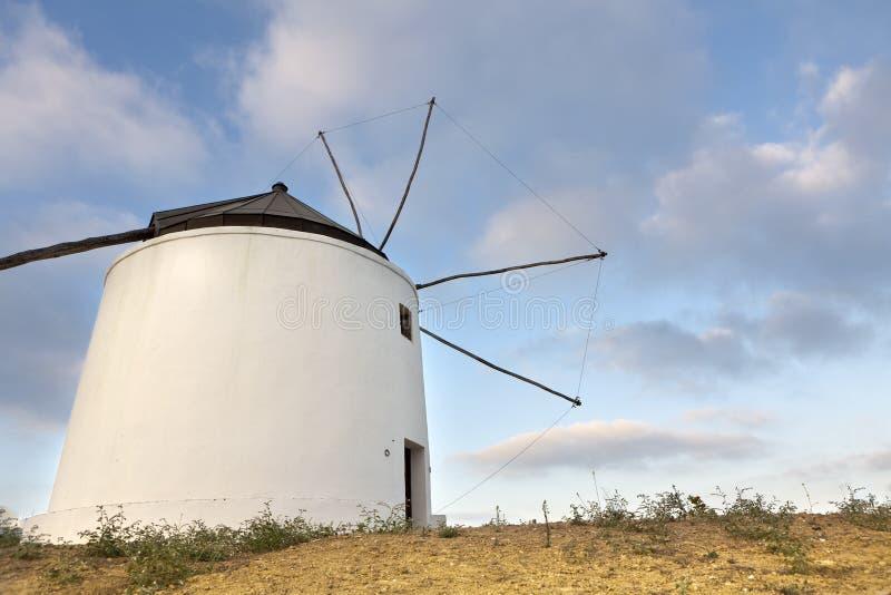 forntida windmill royaltyfri bild