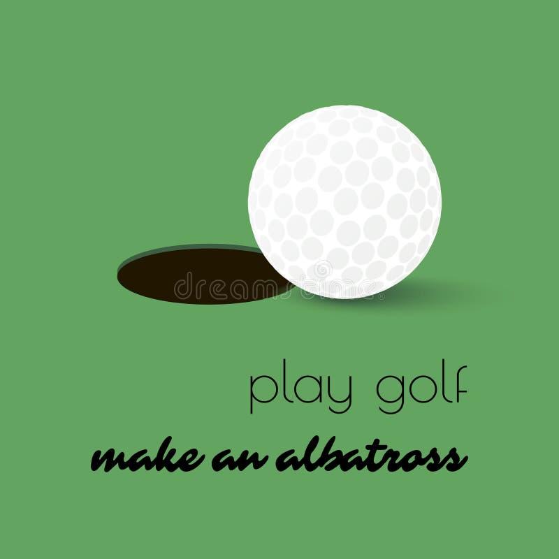 Foro della palla da golf royalty illustrazione gratis