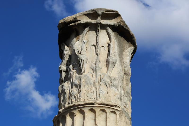 Foro di Traiano, Italie photos stock