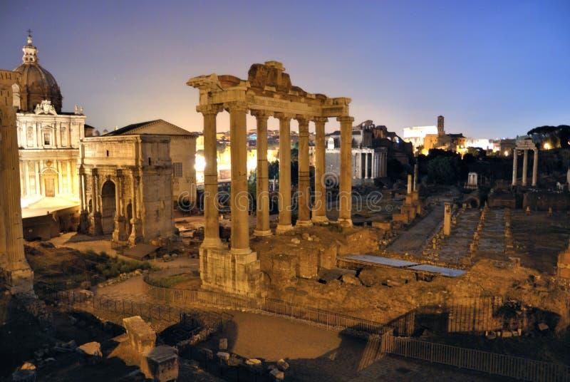 Foro romano fotografía de archivo