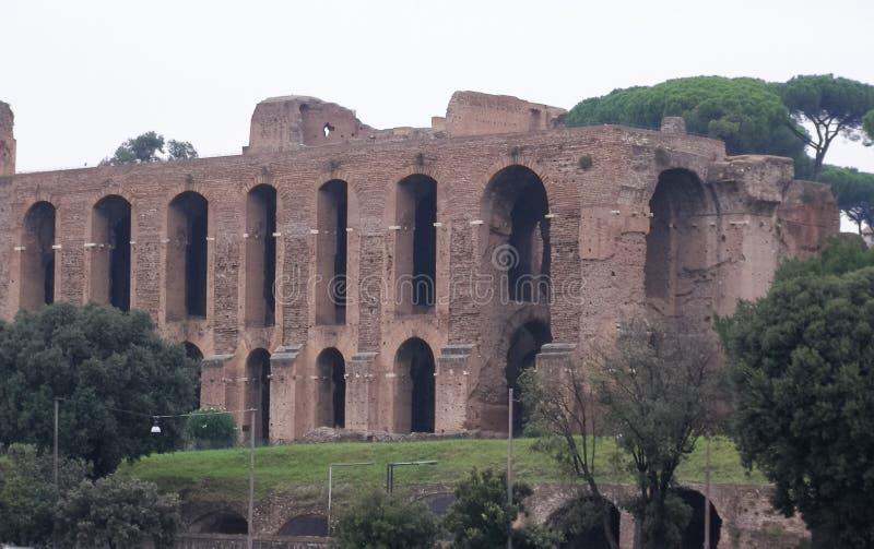 Foro romano en Roma foto de archivo