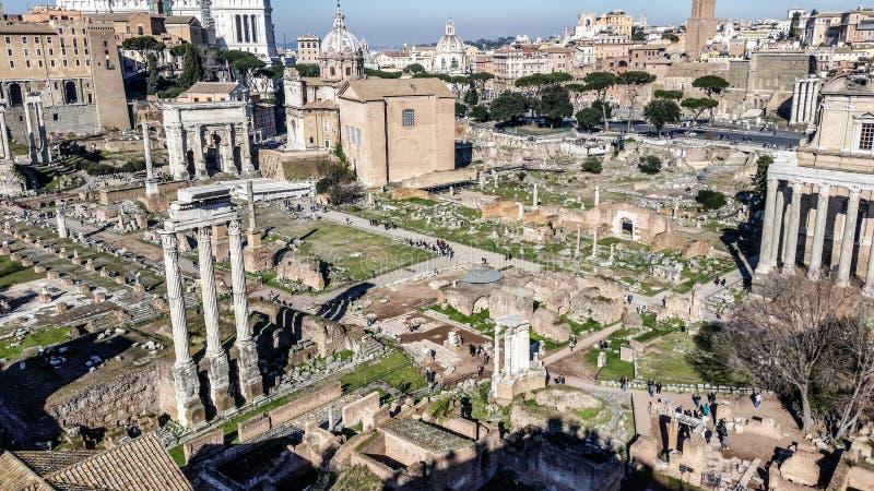 Fororomano - Rome stock afbeelding