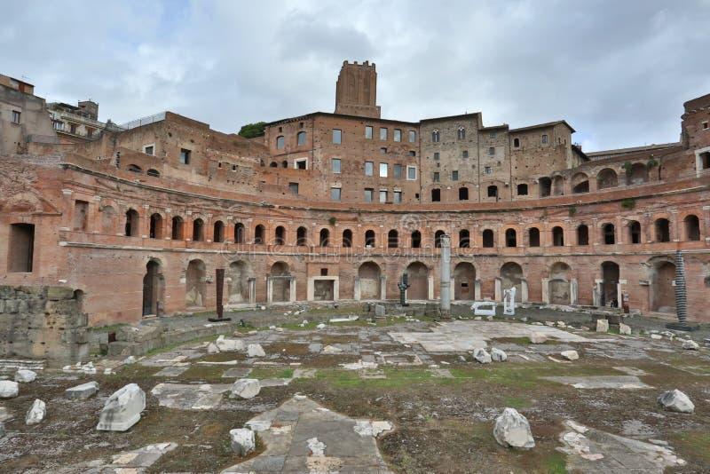 Foros antiguos de Roma foto de archivo libre de regalías
