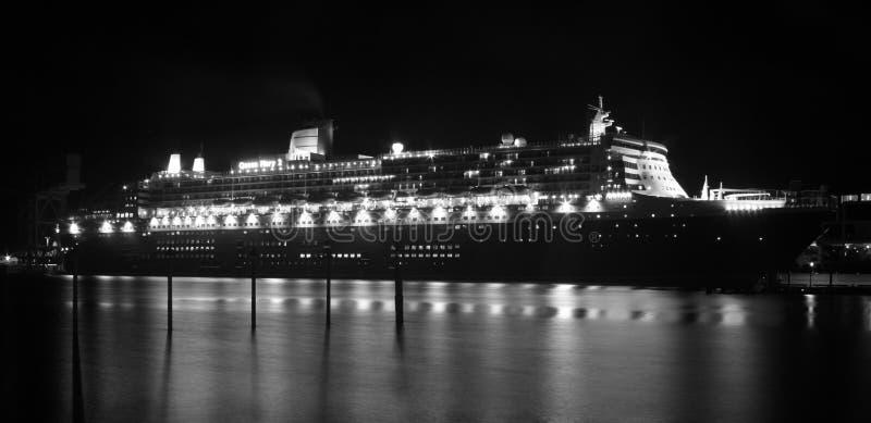 Forro Do Cruzeiro De Queen Mary 2 Em Sydney, Austrália Foto Editorial