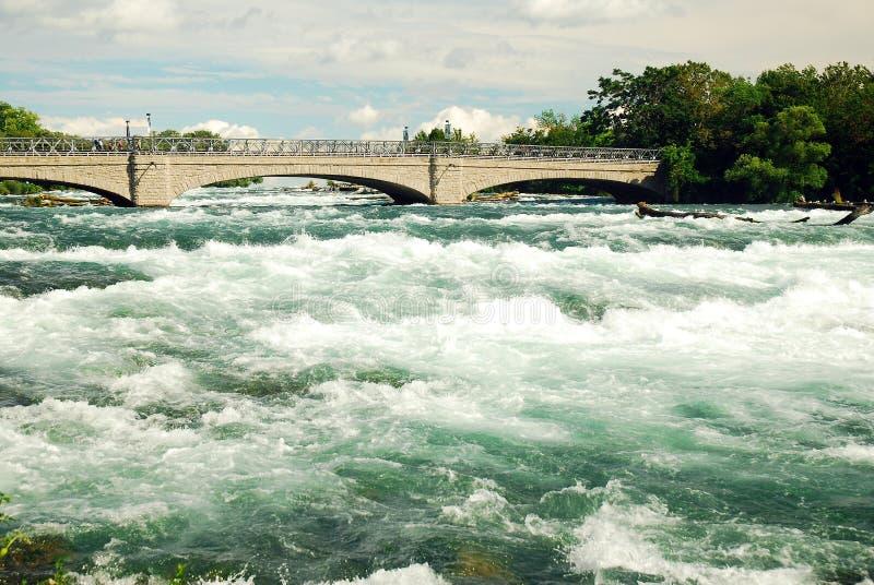 Forsar av Niagara fotografering för bildbyråer