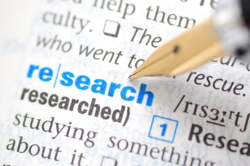 Forschung lizenzfreies stockfoto