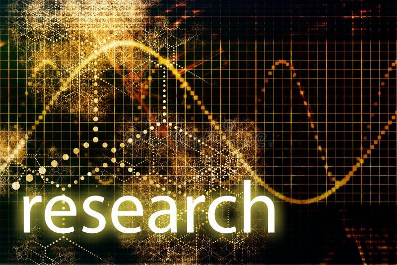 Forschung stock abbildung