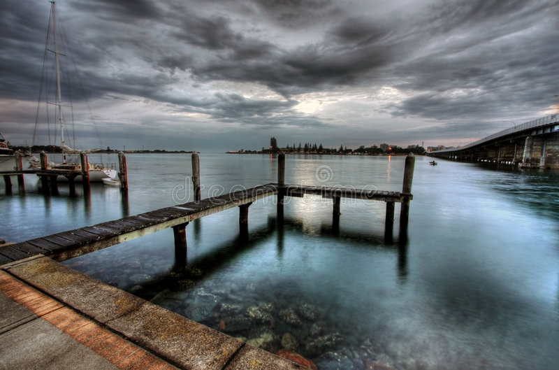 Forster and Tuncurry royalty free stock image