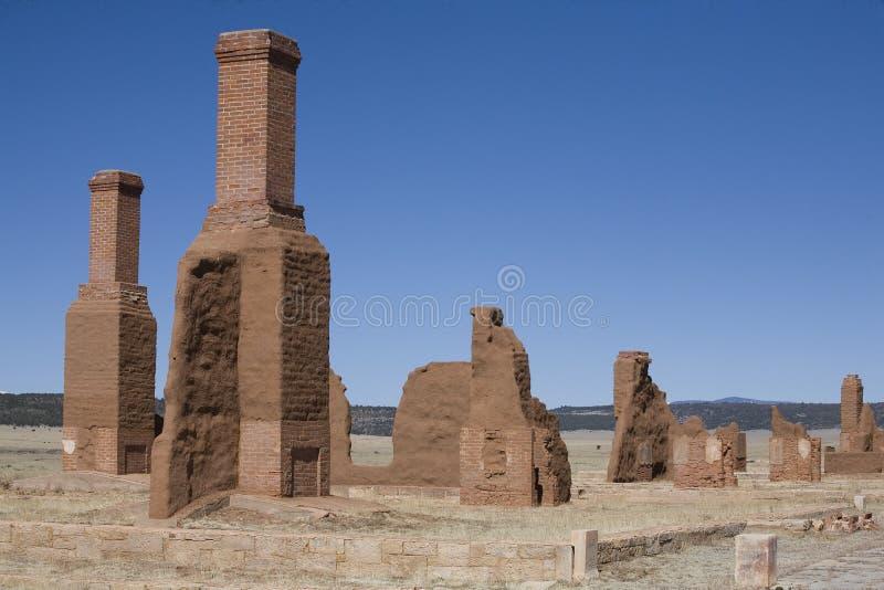 Fort abandonné image libre de droits