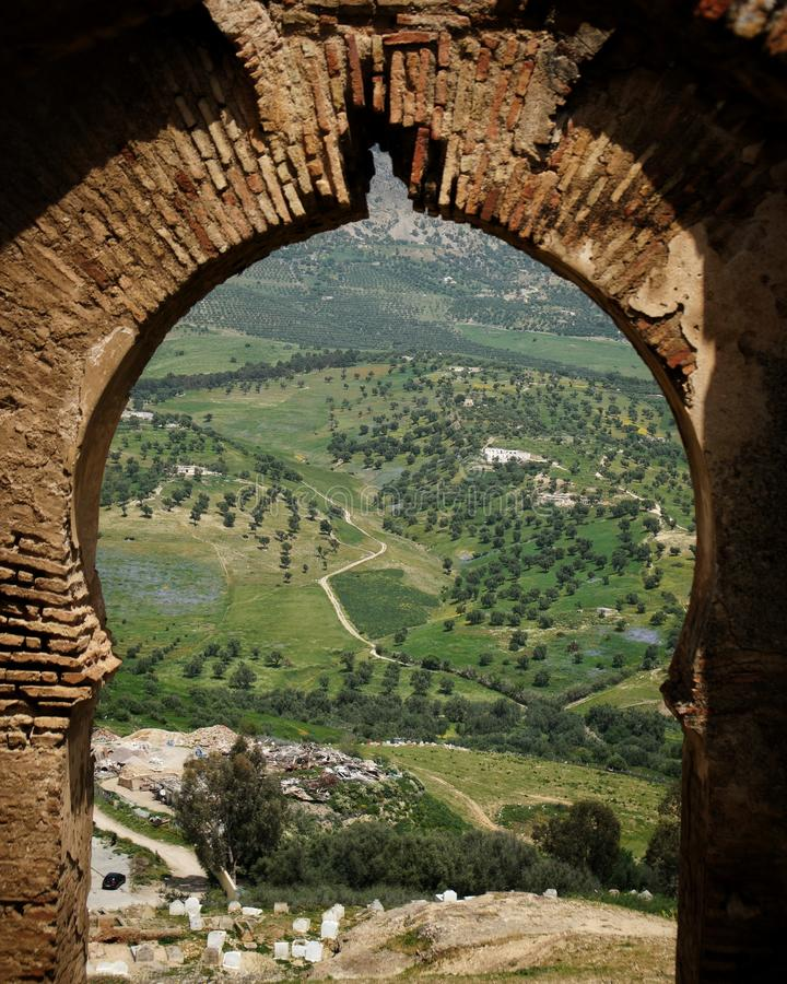 The view from Fez royalty free stock images