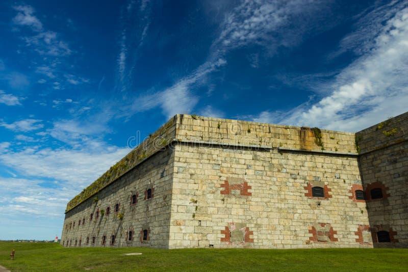 Fort Adams w Newport, RI obraz stock