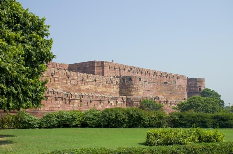 Fort Agra w India architekturze budowa obraz royalty free