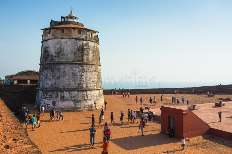 Fort Aguada royalty free stock photography