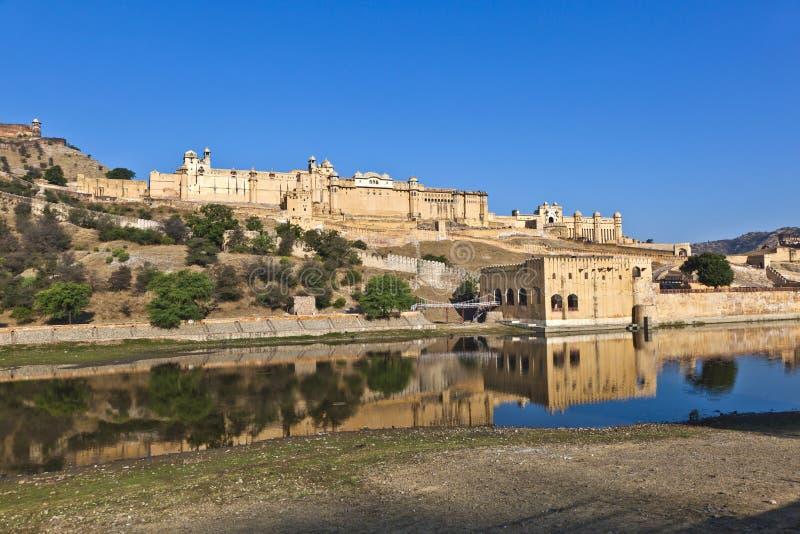 Fort ambre célèbre à Jaipur images stock